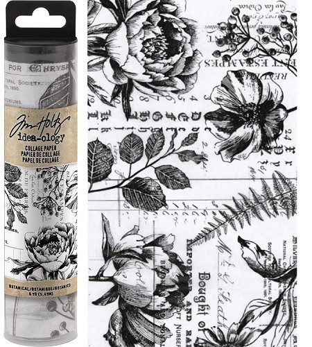 Tim Holtz Idea-ology kollázspapír - Botanical