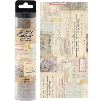 Tim Holtz Idea-ology kollázspapír - Paper Document