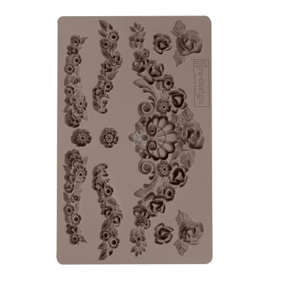 Szilikon öntőforma - Mould - Tillurie Flourishes