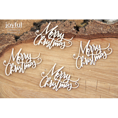 Joyful - Merry Christmas 4 db felirat
