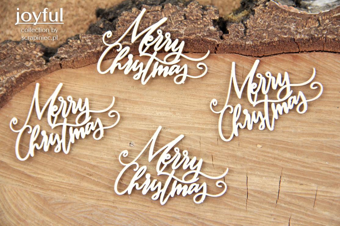 Joyful - Merry Christmas 4 db felirat