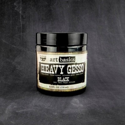 Finnabair - Art Basics - Black Gesso