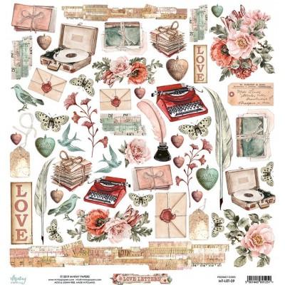 Love Letters kivágóív
